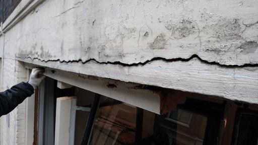 Reparatie van bovendorpel